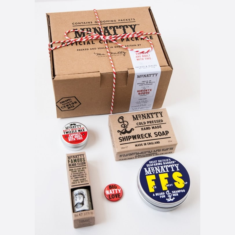 coffret soin barbe mr natty